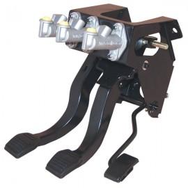 RALLY DESIGN Escort MK2 Hyd/Clutch Balance Bar Pedal Box - NEW Pressed Pedals