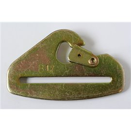 "GRAYSTON 75mm (3"") Snap hook zinc plated gold"