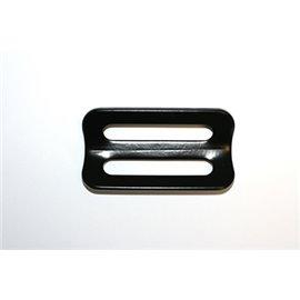 "GRAYSTON 50MM (2"") 3 bar slider Black coated cranked"