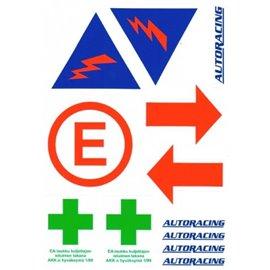 ARX sticker set