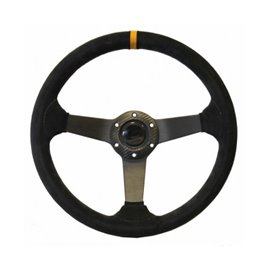 ARX 350mm steering wheel mocca leather depth 53mm