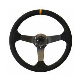 ARX 350mm steering wheel mocca leather depth 71mm