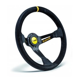 SABELT SW-390 steering wheel mocca leather 350mm/90mm