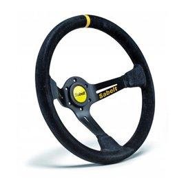 SABELT SW-390 steering wheel mocca leather 350mm/90mm
