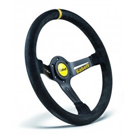SABELT SW-465 steering wheel mocca leather 350mm/65mm