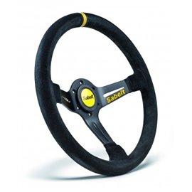 SABELT SW-465 steering wheel mocca leather 350mm/65mm