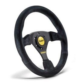 SABELT SW-635 steering wheel mocca leather 330mm/straight