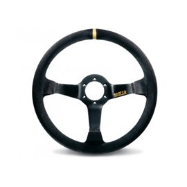 SPARCO R325 3spoke 350mm depth 95mm leather