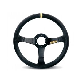 SPARCO R345 3spoke 350mm depth 63mm leather