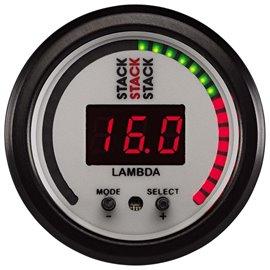 STACK Pro-Control Wideband Lambda WHITE