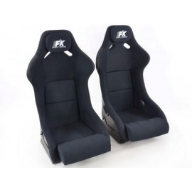 Sportseat Set Evolution fabric black