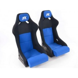 Sportseat Set Evolution fabric blue/black