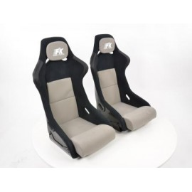 Sportseat Set Evolution fabric grey/black