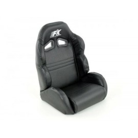 Child sports seat synthetic leather black