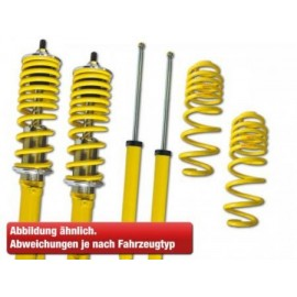 Coilover kit suspension Audi A3 8V year from 2012 with 50 mm strut, fix rear axle