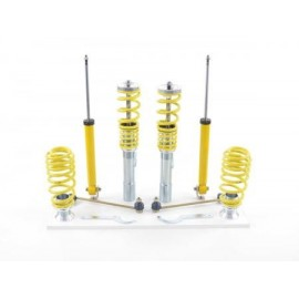 FK hardness adjustable coilover kit VW Golf 6 1KM Variant year 2009-2013 with 55 mm strut