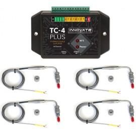 Innovate 4-Channel EGT Kit (TC-4 plus), 4 Type-K EGT Probes)