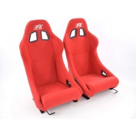 Sportseat Set San Francisco fabric red /