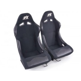 Sportseat Set Basic fabric black