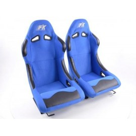 Sportseat Set Basic fabric blue