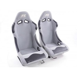 Sportseat Set Basic fabric grey