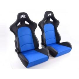 Sportseat Set Control fabric blue/black