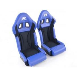 CAR SEAT COVER SET TRAX BLUE PANEL VAUXHALL ZAFIRA DESIGN 99-05