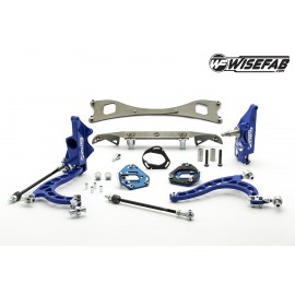 NISSAN S-CHASSIS LOCK KIT WITH RACK RELOCATION KIT FOR S13 HUBS