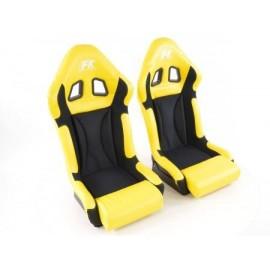 Sportseat Set Race 1 yellow/black