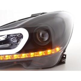 Daylight headlight Mercedes C-class W204 Yr  11-14 black