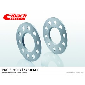 FIAT   CINQUECENTO 07.91 - 07.99  Total Track widening (mm):10 System: 1