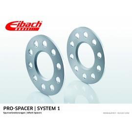MERCEDES       C-KLASSE 05.00 - 08.07  Total Track widening (mm):10 System: 1