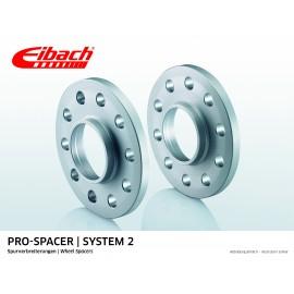 PORSCHE    911 02.98 - 08.05  Total Track widening (mm):46 System: 2