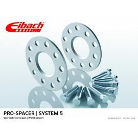CHRYSLER PT CRUISER 06.00 - 12.10  Total Track widening (mm):10 System: 5