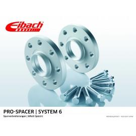 CHRYSLER SEBRING CABRIO 04.01 - 06.07  Total Track widening (mm):20 System: 6