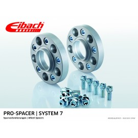 AUDI        A3 04.08 - 05.13  Total Track widening (mm):60 System: 7
