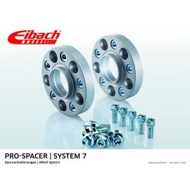 PORSCHE    911 02.98 - 08.05  Total Track widening (mm):46 System: 7