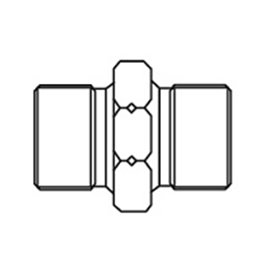 adapter for 1/8 BSP-1/8 NPTF