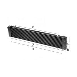 Setrab Slimline 6-row oil cooler