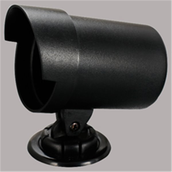 Gauge cup, black, with cap