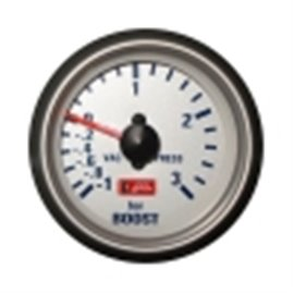 "Boost gauge 3 bar ""silver"""