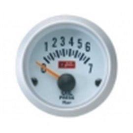 """Oil pressure gauge """"silver"""""""