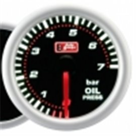 "Oil pressure gauge ""smoke"""