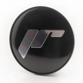 Japan Racing Center Cap Flat Universal G.Black + Silver Letters