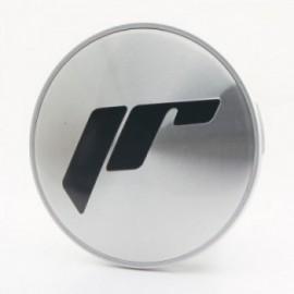 Japan Racing Center Cap Flat Universal Silver