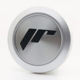 Japan Racing Center Cap JR10 Flat type Silver