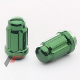 Japan Racing Forged Steel  Nuts JN2 12x1,25 Green