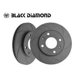 Audi A1 All Models For PRnr 1KT Rear Disc (TRW System)  05/10 - Rear-Steel  6 slotted
