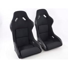 FK Sportseat Auto Bucket seats Set Springfield in Motorsport-look