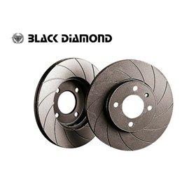 Daewoo Korando All Models  Rear Disc  99-05 Rear-Steel  12 slotted